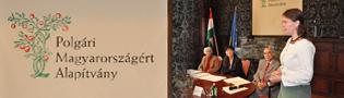 Fiatalok a Polgári Magyarországért díjátadó ünnepsége